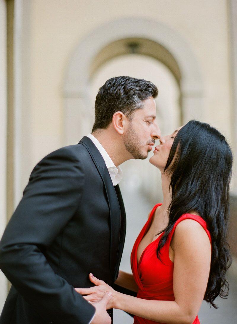Honeymoon pictures in Italy