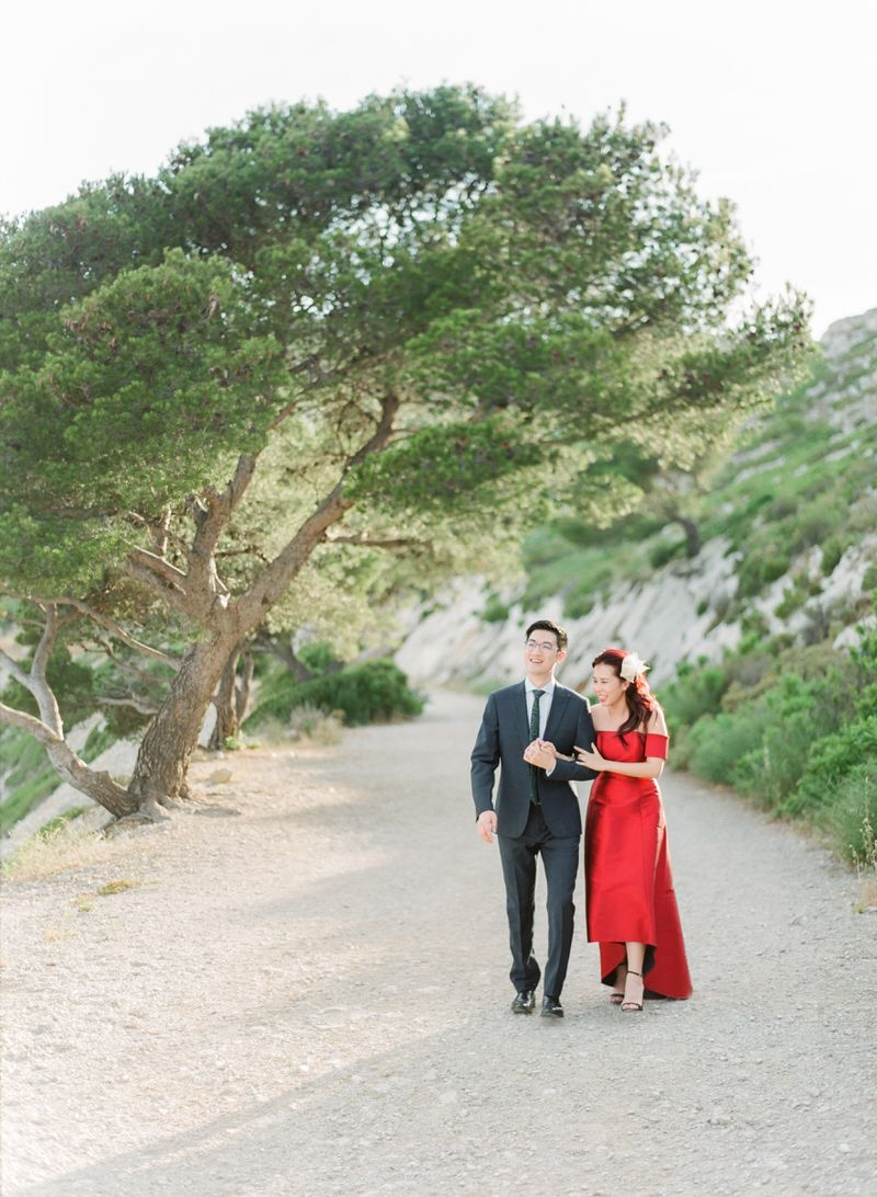 Pre wedding photo shoot in South Of France