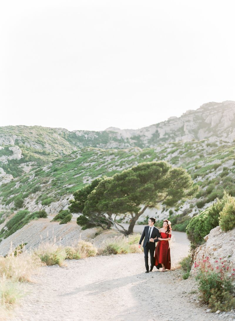 Engagement photos in South Of France