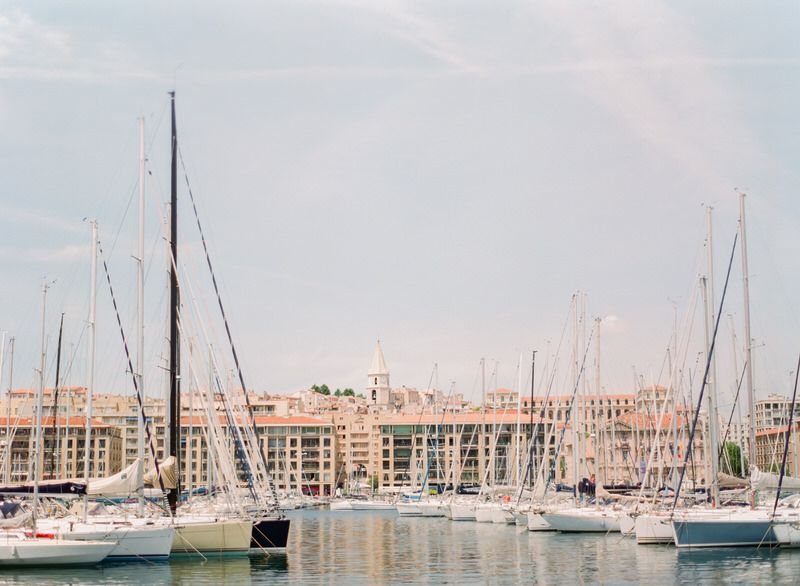 Boats In Marseille