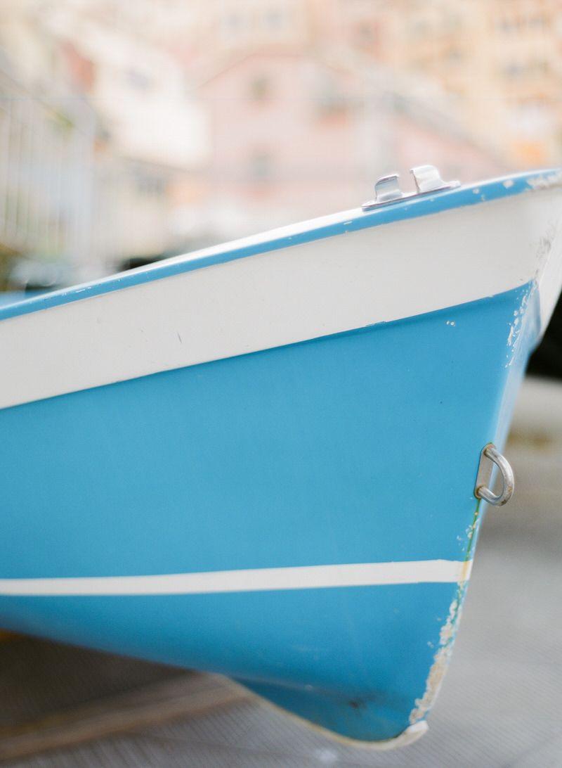 Boat In Manarola