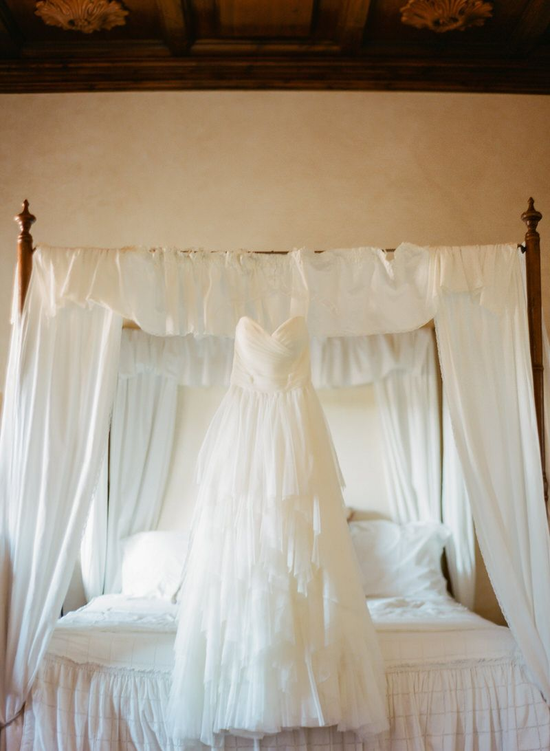 Floating Wedding Dress