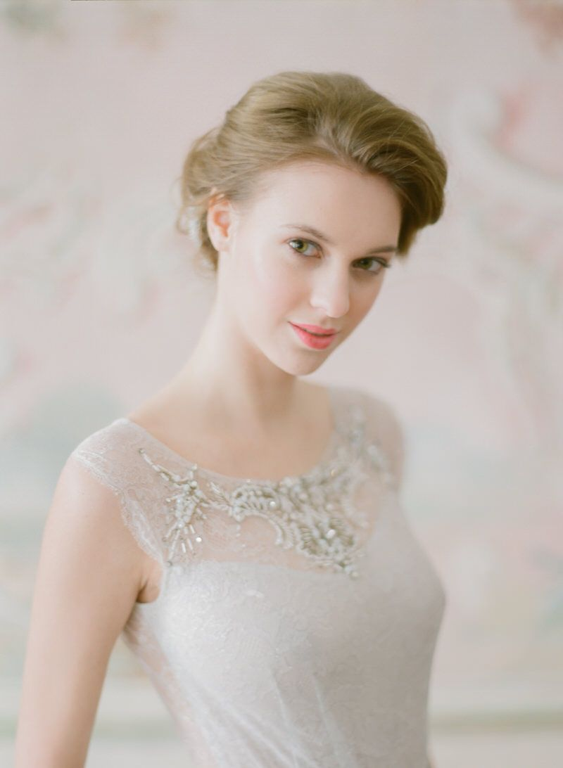 Grey Wedding Gown