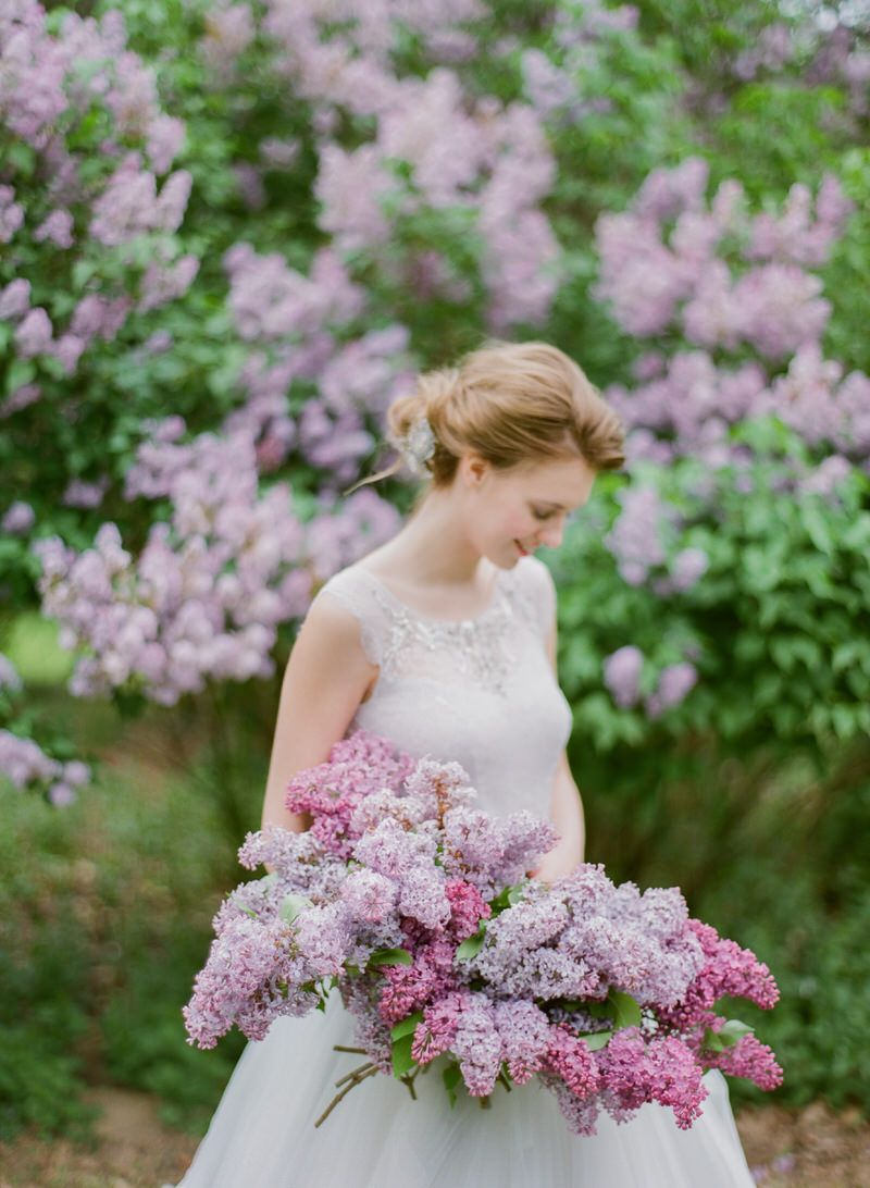 Bridal Bouquet Ideas Lilac