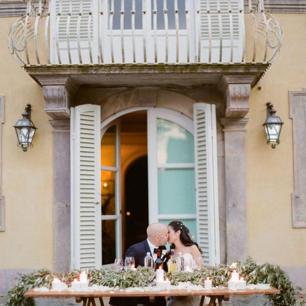 Al Fresco Rustic Wedding at 11th century Tuscan Villa