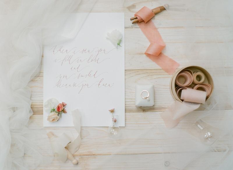 Bridal Boudoir Stationary