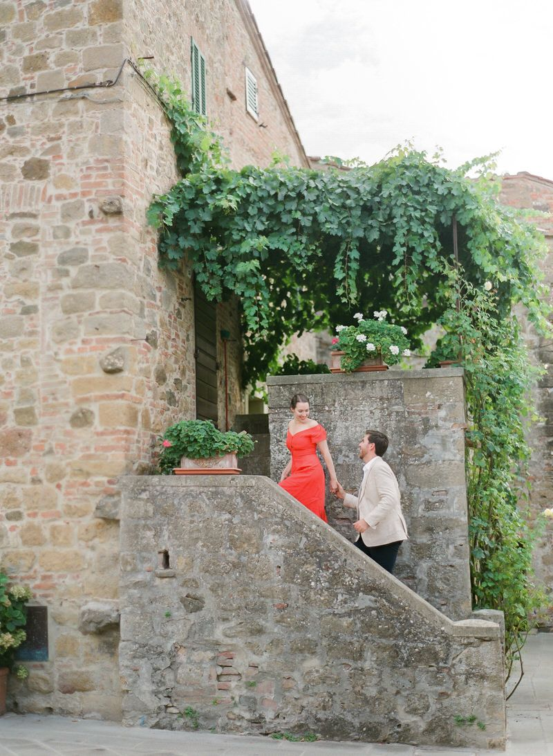 Prewedding photo shoot in Tuscany