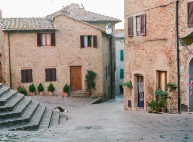 Tuscan Little Town