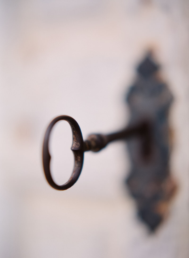 Old key in French Chateau