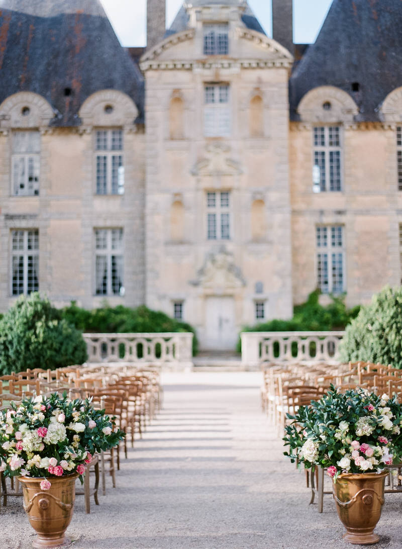 Destination Wedding In French Chateau