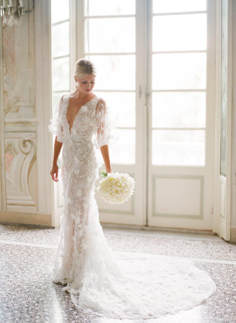 Bride in Villa Durazzo