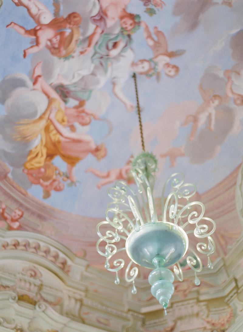 Villa Durazzo ceiling