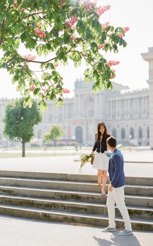 A ROMANTIC MORNING STROLL IN VIENNA