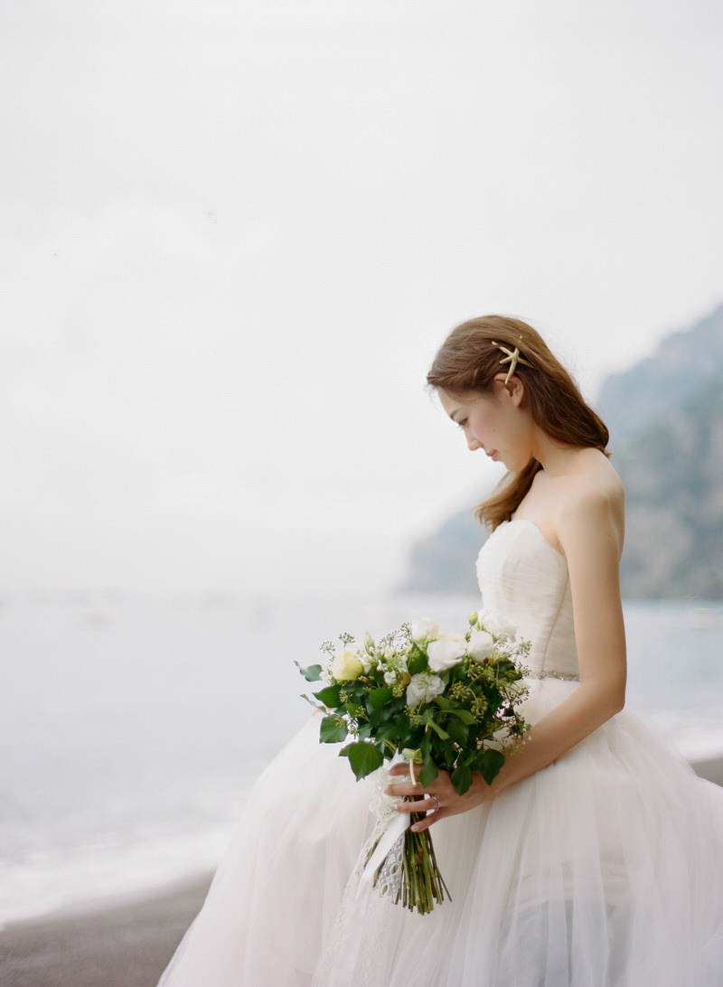 Bridal Portraits in Positano
