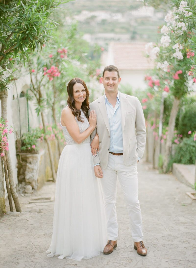 Pre-wedding Ravello Photo Shoot