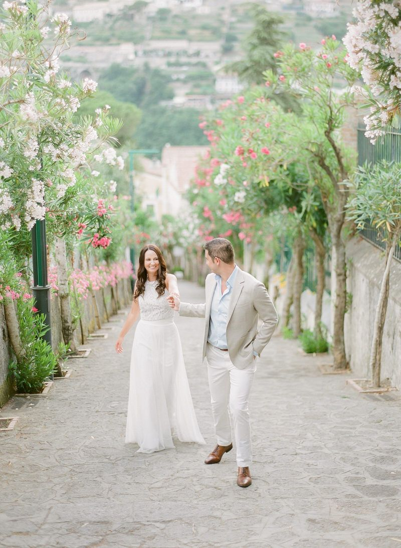 Romantic Engagement Dinner In Ravello