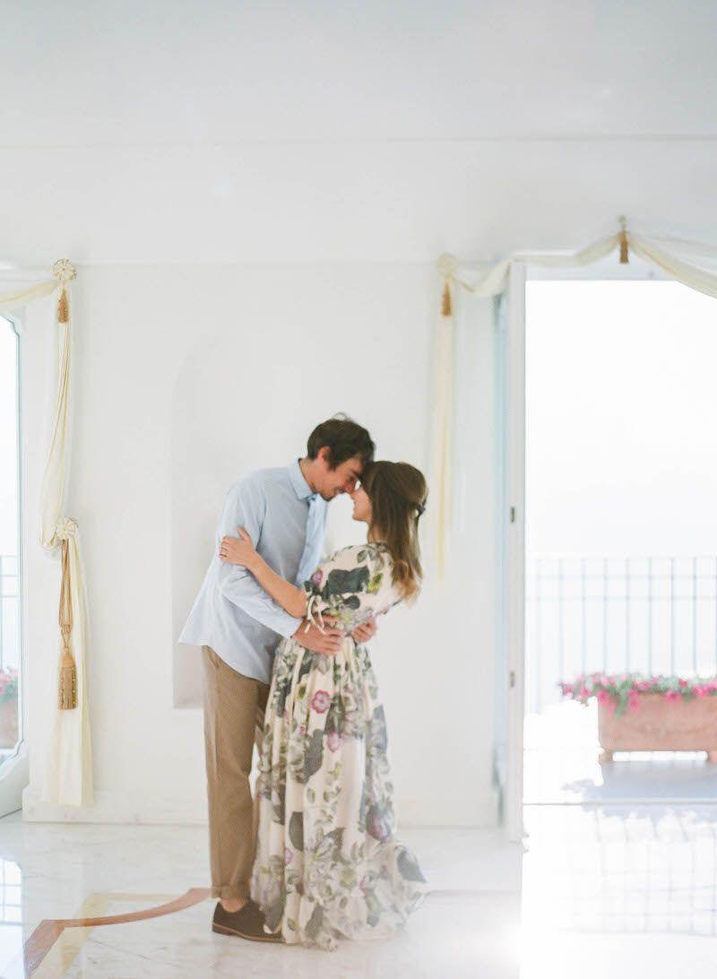 Honeymoon Photoshoot in Ravello