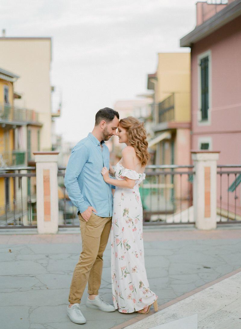 Engagement photo Shoot In Manarola