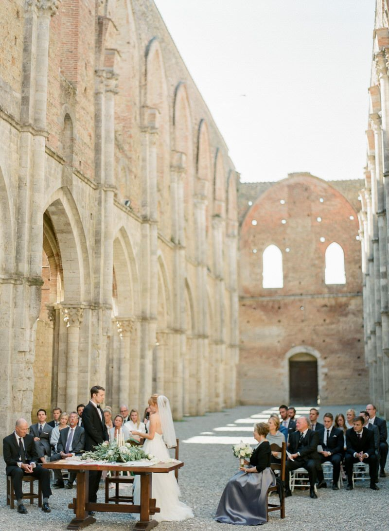 San Galgano Ceremony In Italy