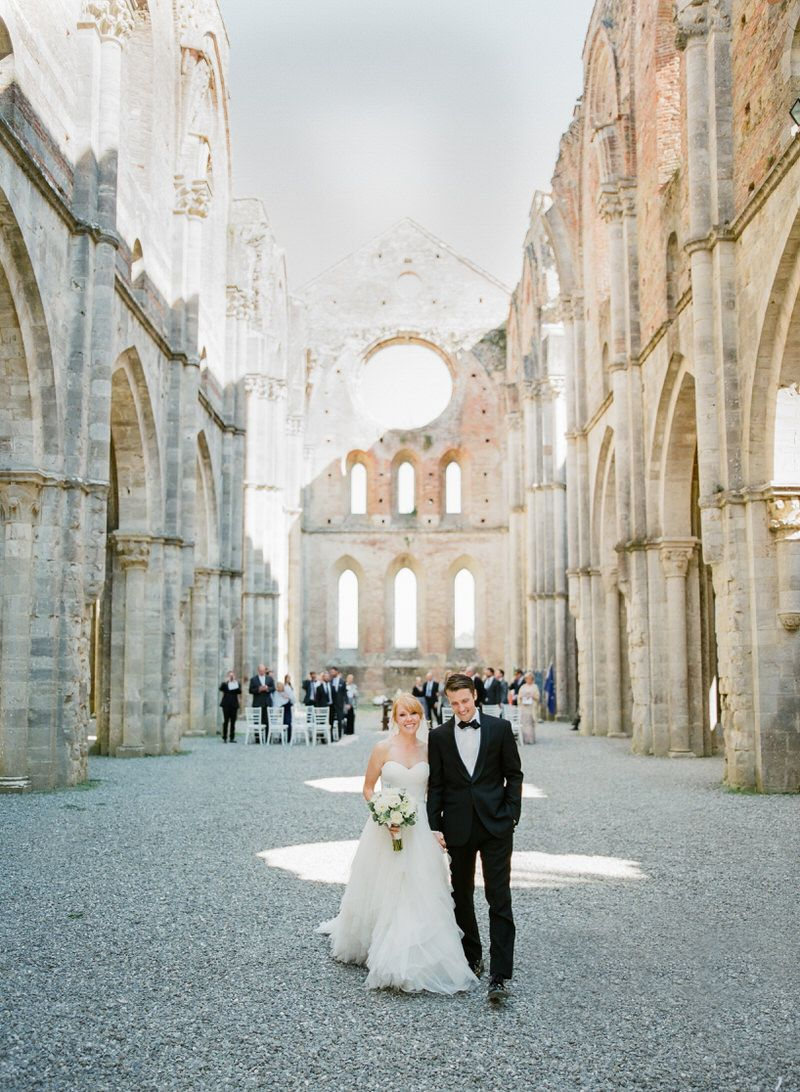 Destination Wedding In San Galgano