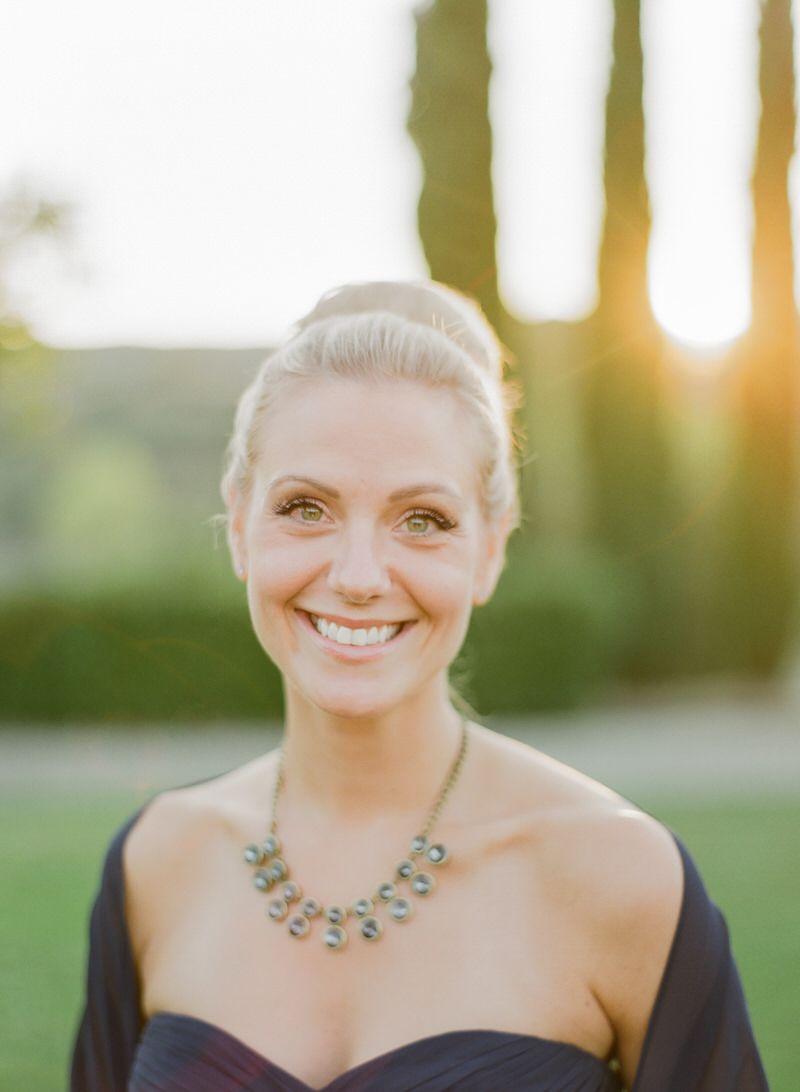 Guest Portrait At A Wedding