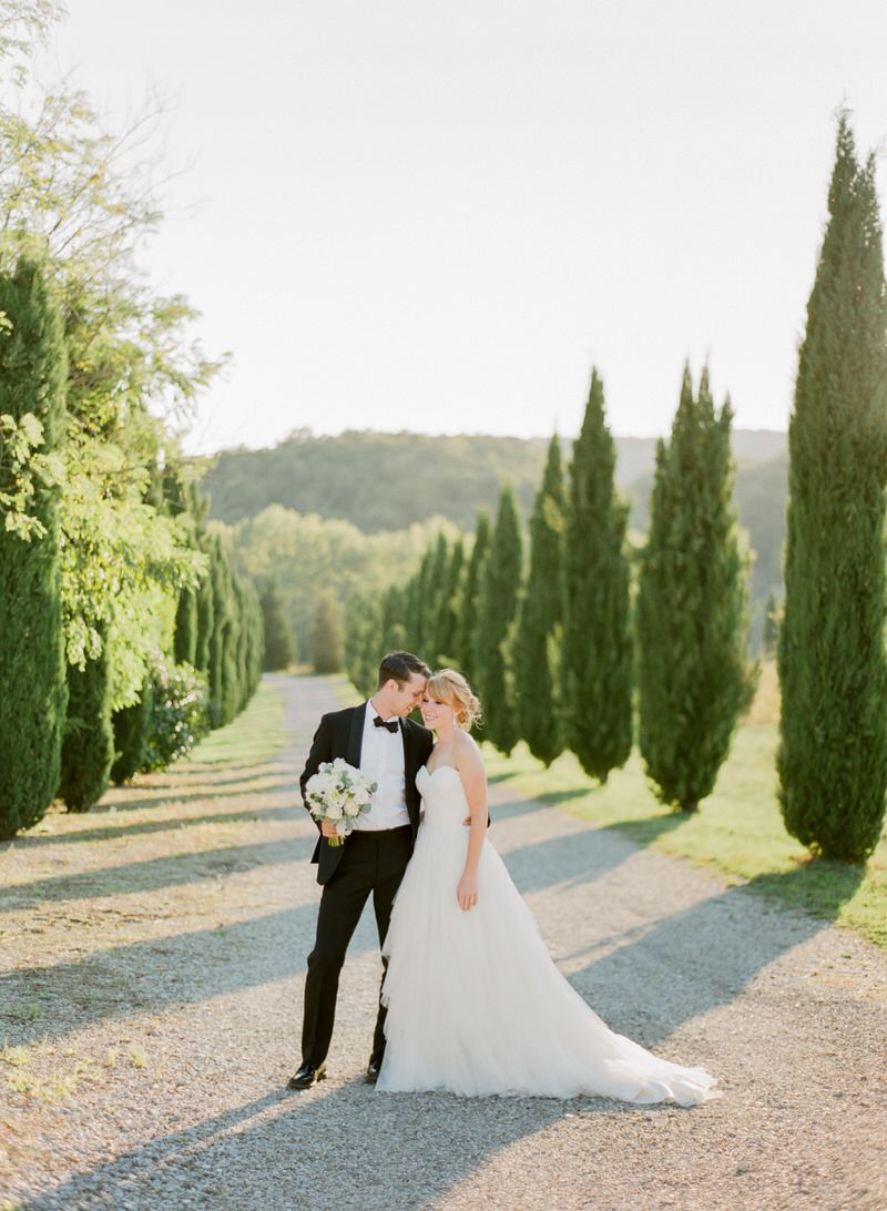 Wedding Portraits In Tuscany