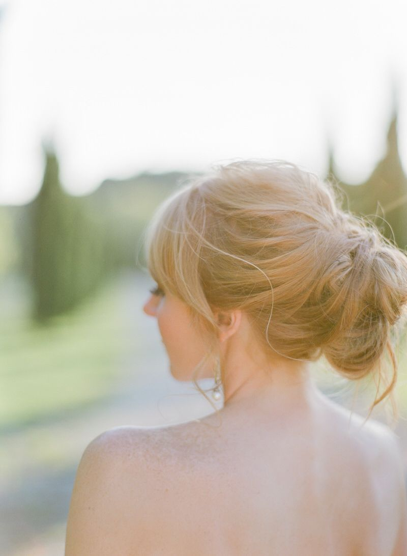 Hairstyle Of A Bride