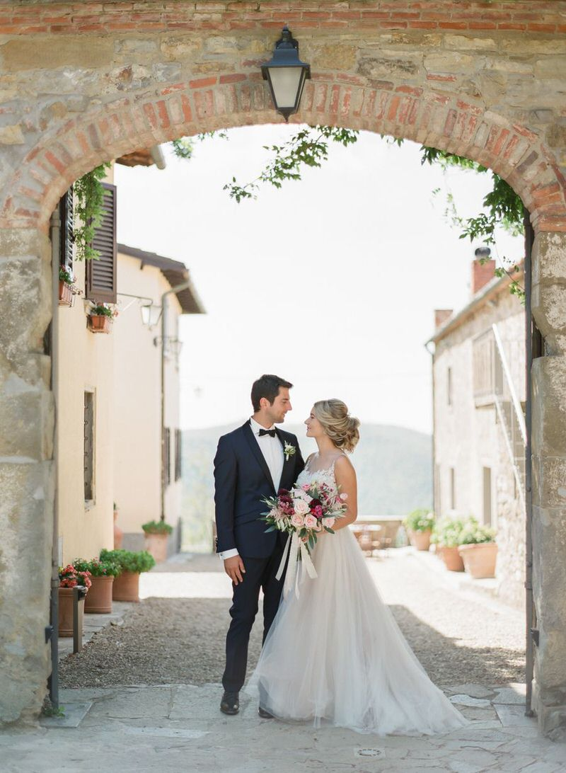 Getting Marry in Tuscany