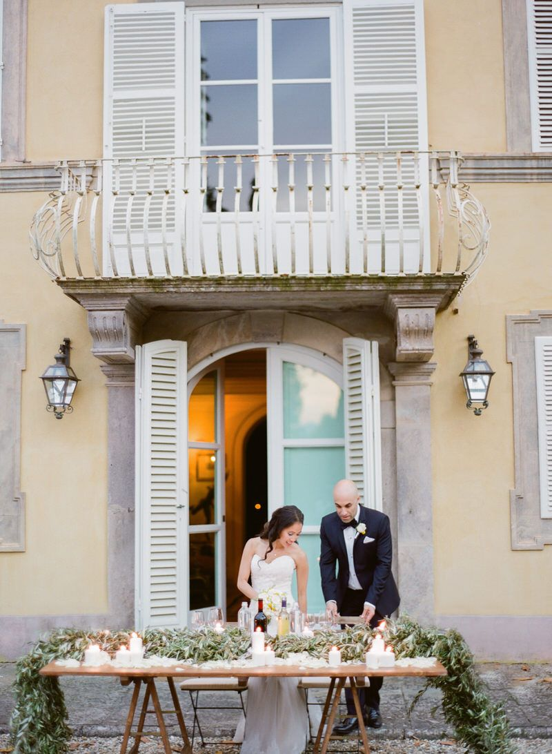 Destination Tuscan Wedding