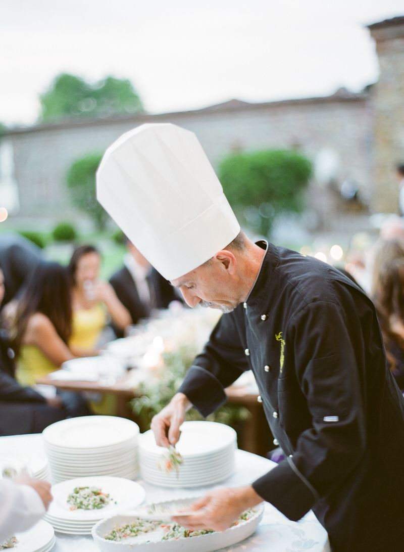 Italian food at a Wedding