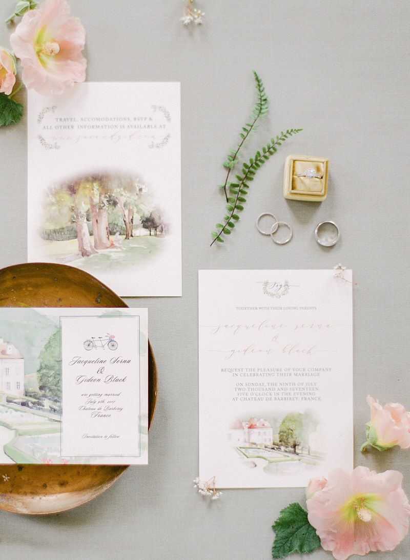 Invitations suite