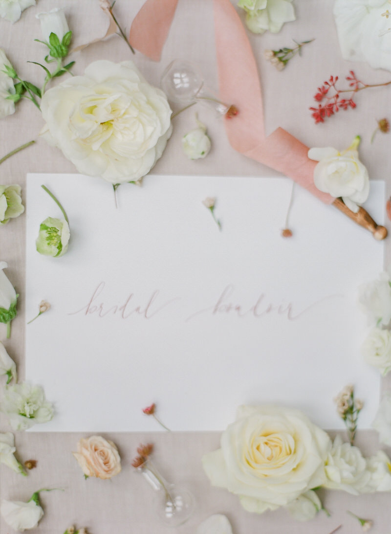 Bridal Boudoir Stationary