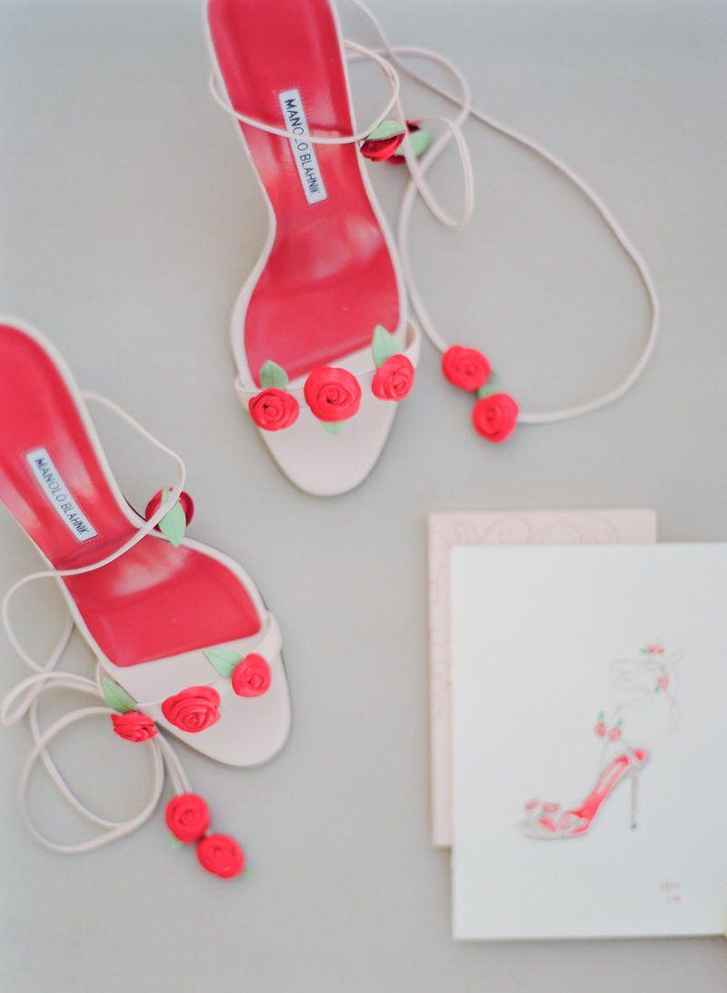 Bridal Shoes Manolo Blahnik