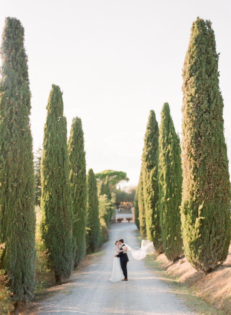 Wedding Portraits In Tuscany