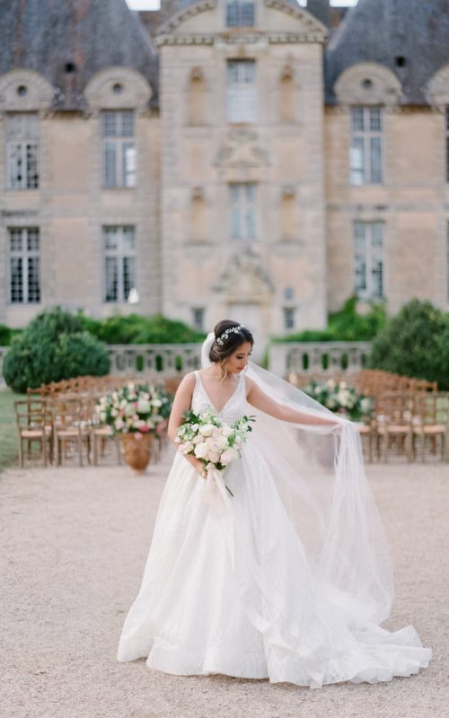 Fairytale In French Chateau With A Very Beloved Wedding