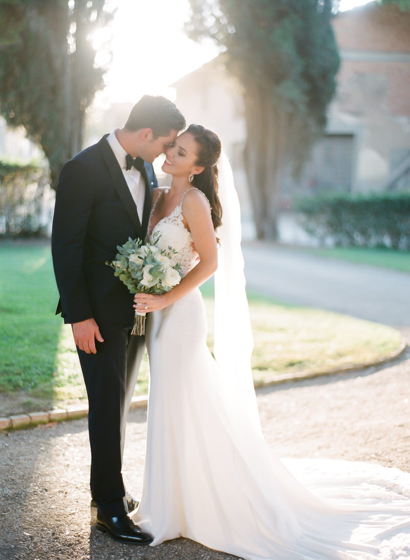 Outdoor Organic Wedding in Tuscany