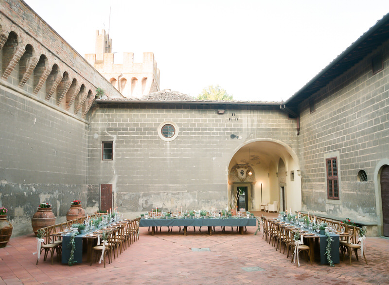 Castello di Oliveto Wedding