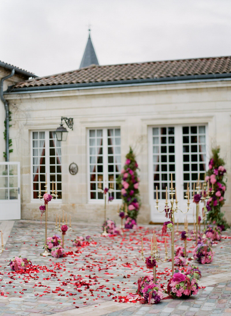 Wedding at Chateau Papa Clement in Bordeaux