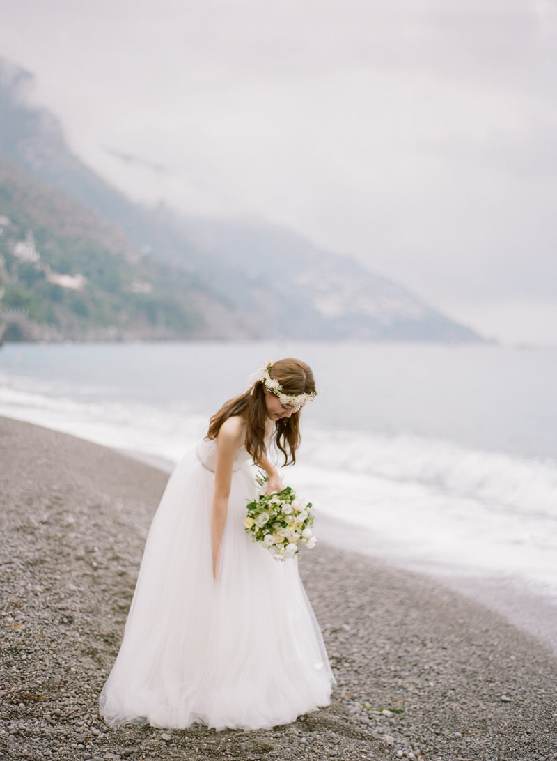 Bride Portrait in Positano