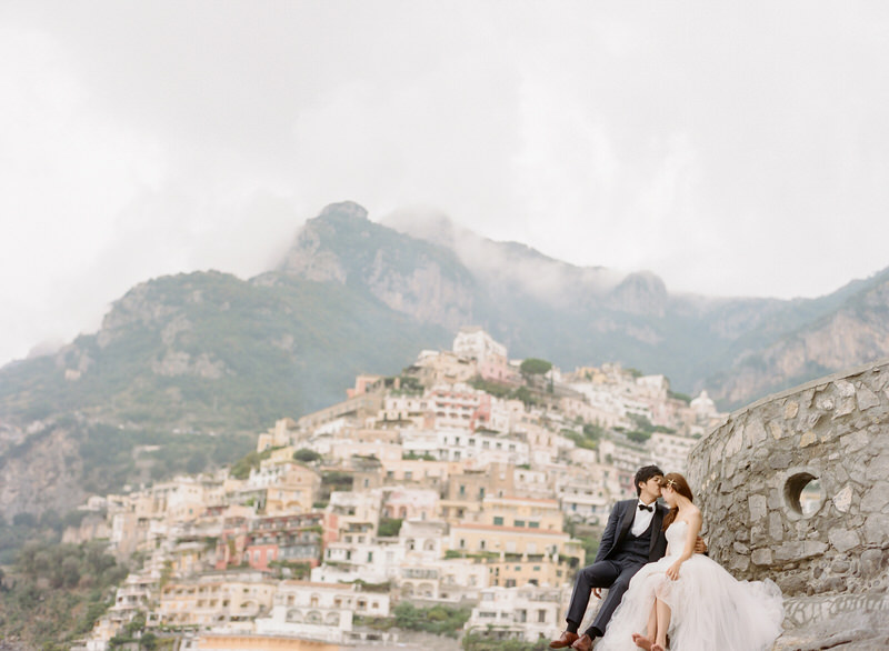 Fine Art Wedding Photographer in Positano Peter and Veronika