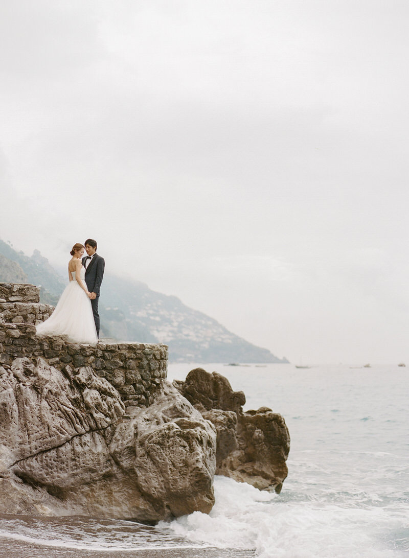 Positano Fine art Wedding Photographer Peter and Veronika