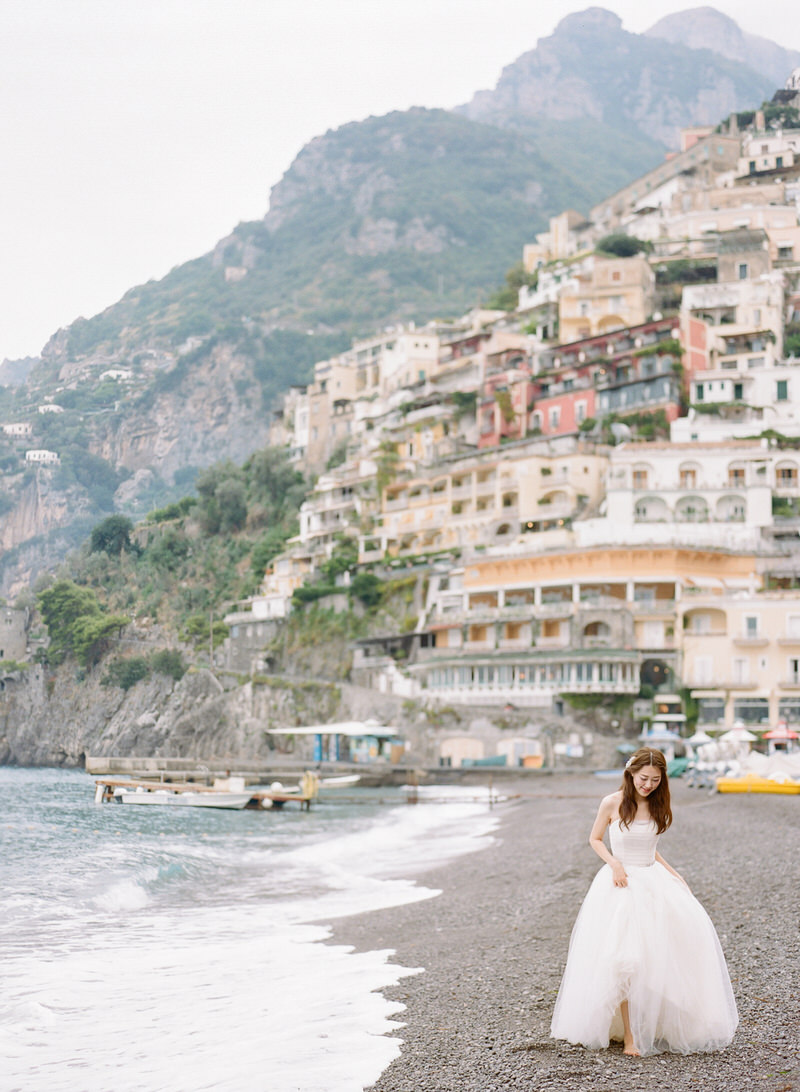 Portraits at Positano Beach
