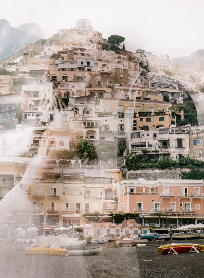 Double Exposure Positano