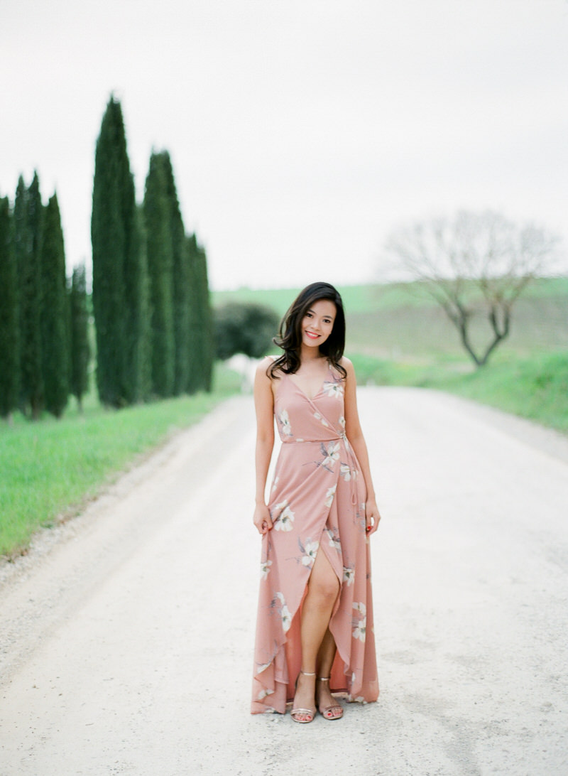 Fine Art Engagement session in Tuscany