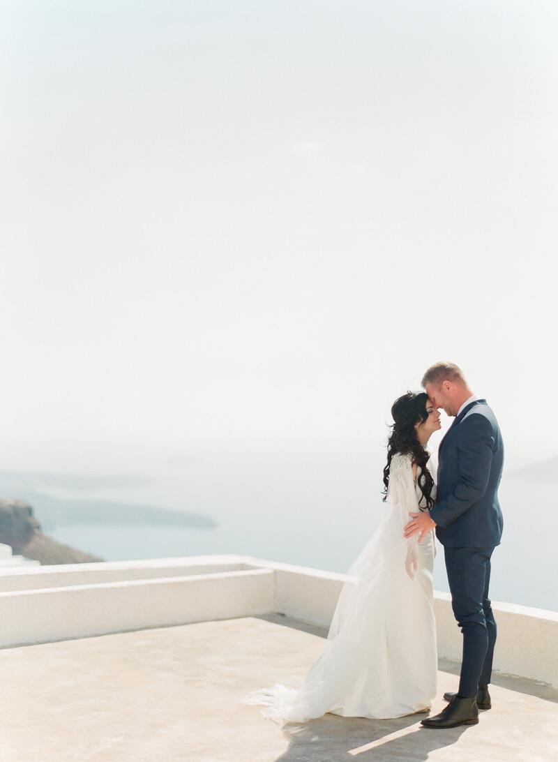 Wedding Portraits in Santorini