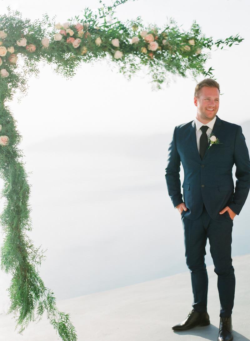 Ceremony in Santorini