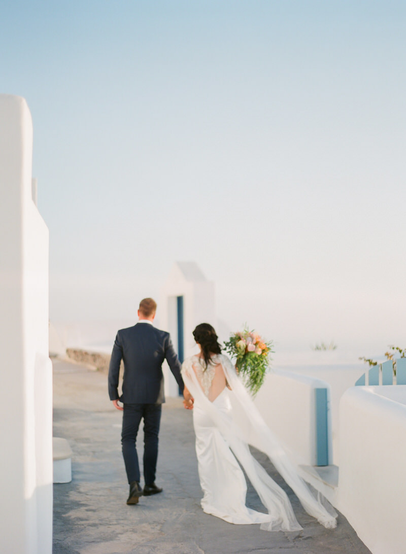 Wedding Portraits in Santorini by Peter and Veronika