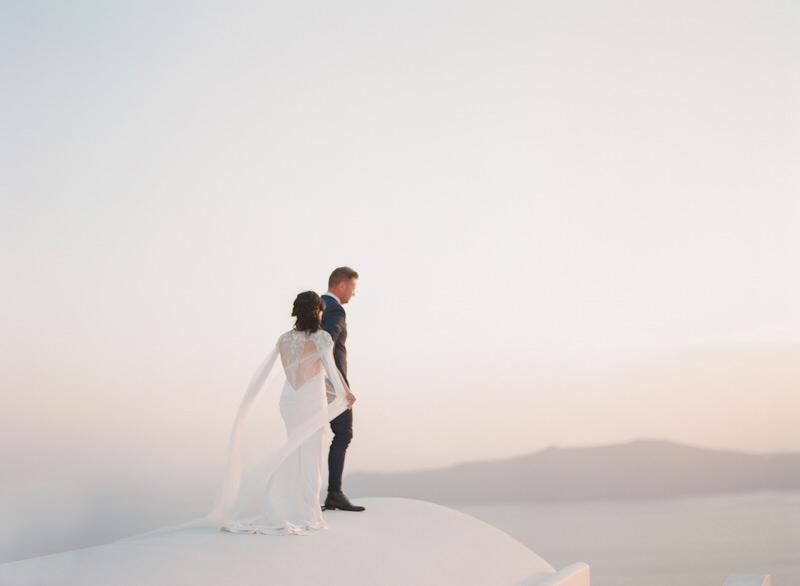 Elopement Santorini