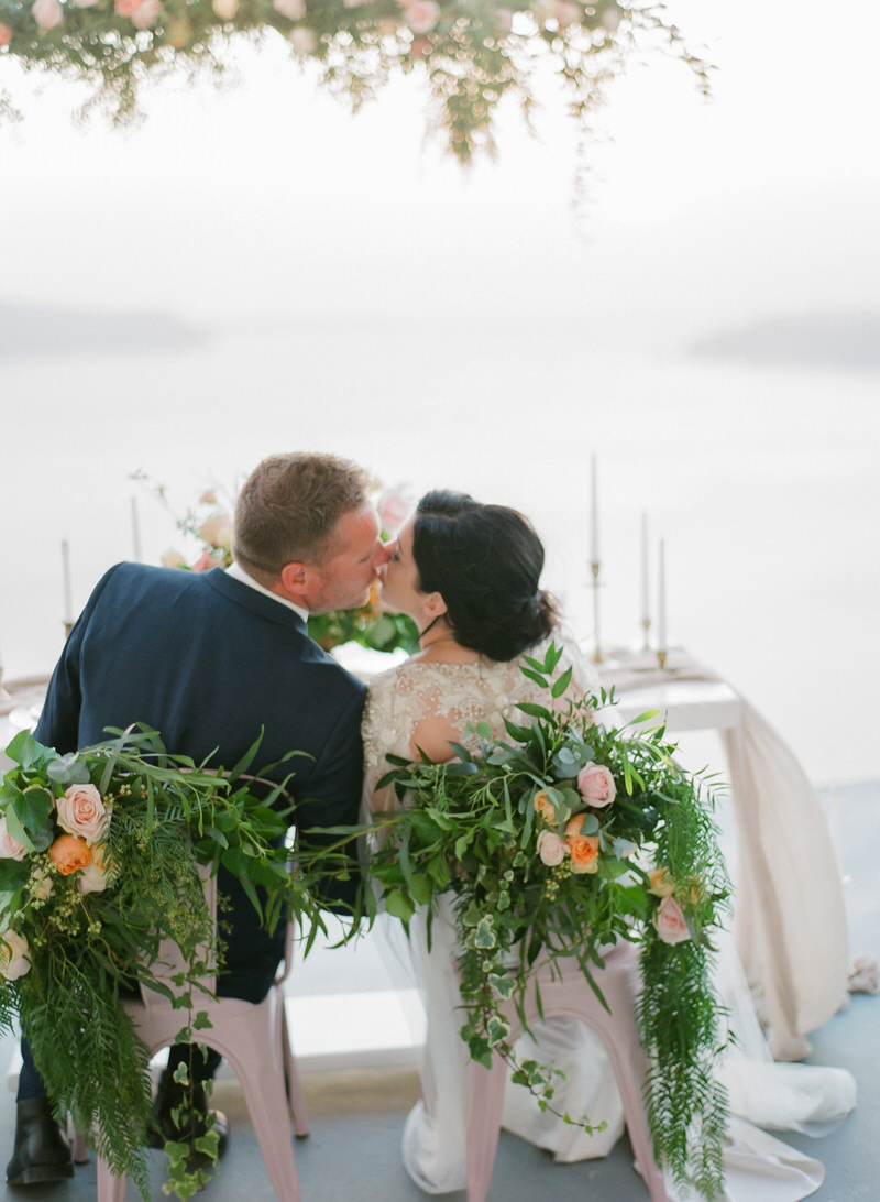 Intimate Weddings in Santorini