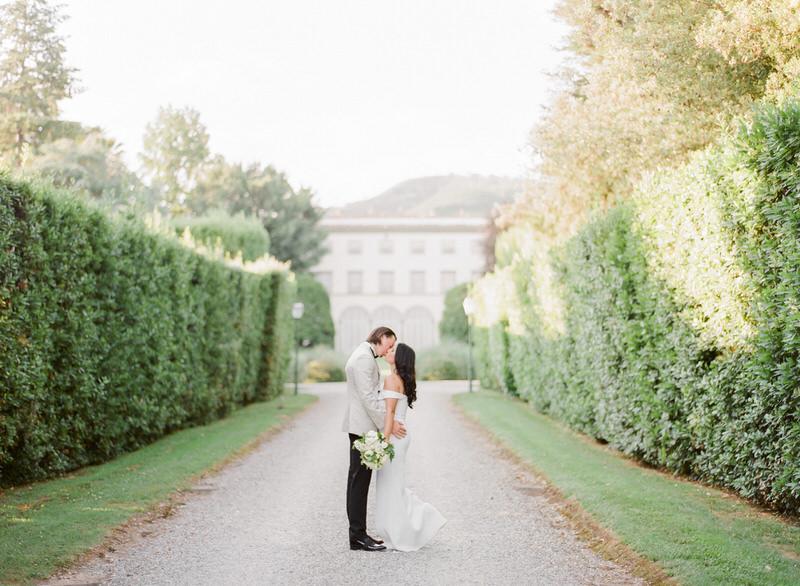 Destination Wedding at Villa Grabau in Lucca